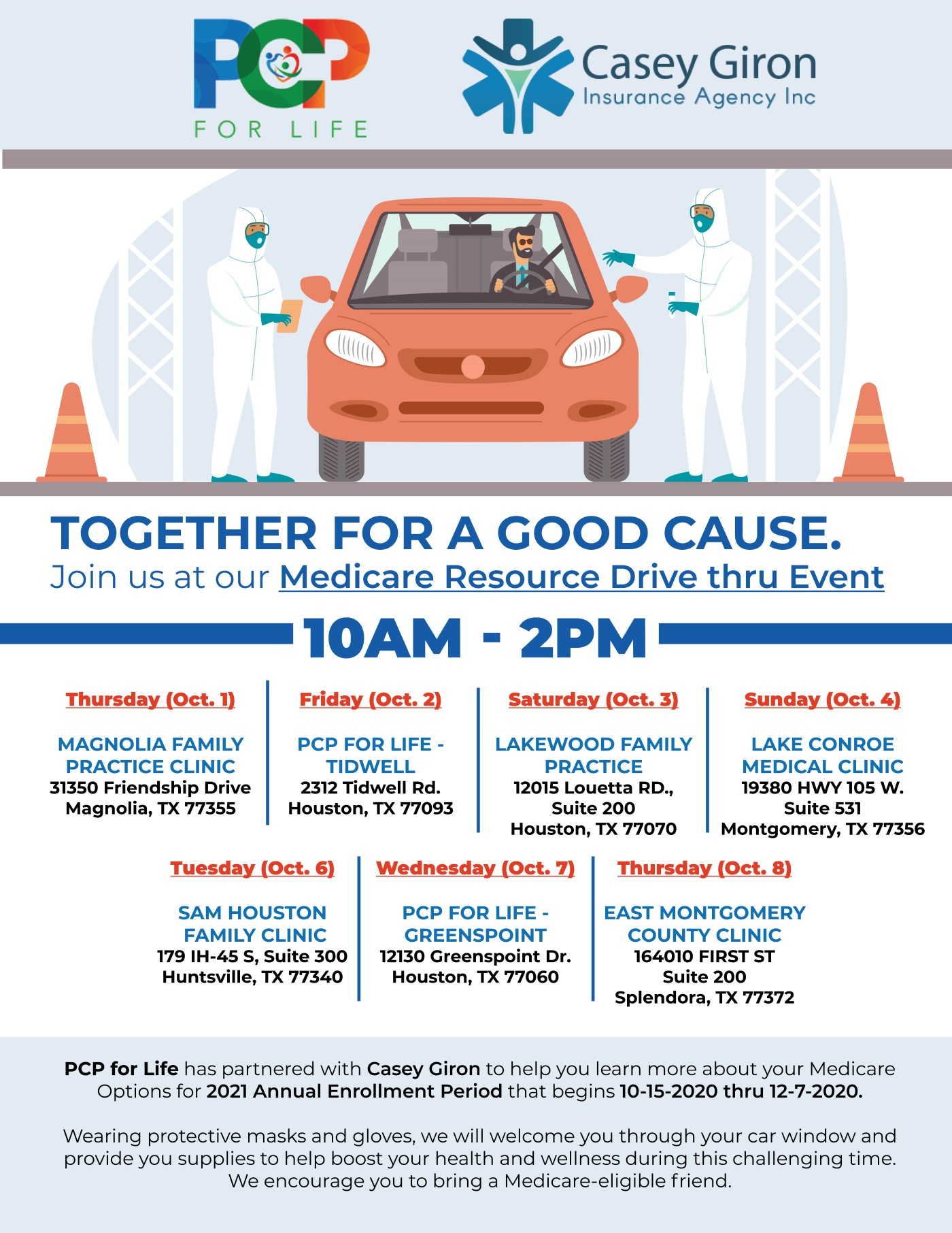PCP-For-Life-Drive-Thru-Event